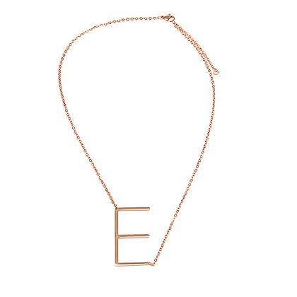 Buchstaben Halskette PersoChain E