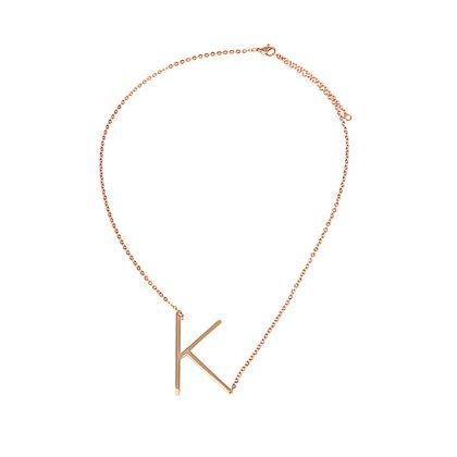 Buchstaben Halskette PersoChain K