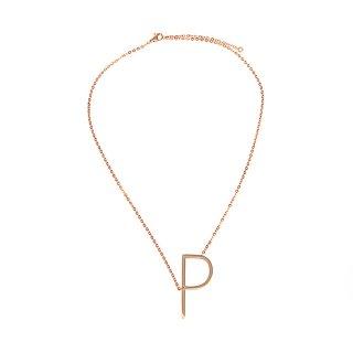 Buchstaben Halskette PersoChain P