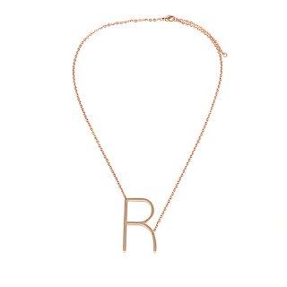Buchstaben Halskette PersoChain R