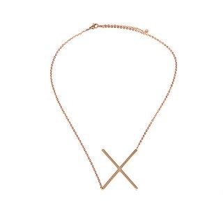 Buchstaben Halskette PersoChain X