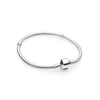 Charms Beads Armband Silber