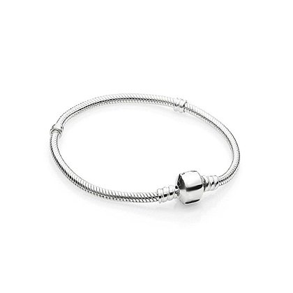 Charms Beads Armband Silber Basis großhandel europeanbeads 18cm