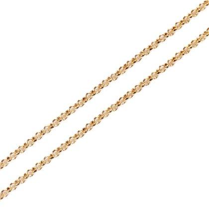 Basis Kette Versielbert Gold