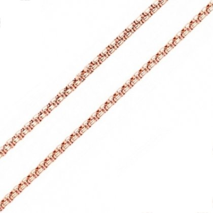 Basis Kette TF Versielbert Rosegold