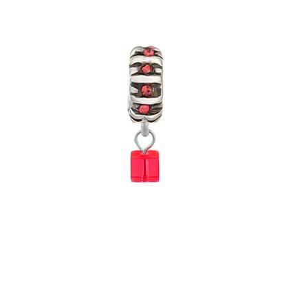 "Charms Beads Charm Anh""nger Perlen fr Armband Kette Starter Angebot,Edelstahl Zirkonia Silber karma-beads , Pandora style kompatibel 925"