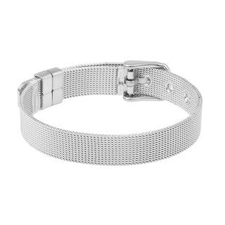 AKKi SLIDER Charm Armband Silber