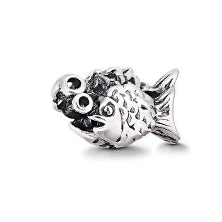 "Fisch Charms Beads Anh""nger Edelstahl Angebot Perle fr bettel-Armband Bead Charm Silber Original Chrystal Strass kompatibel mit Pandora Style"
