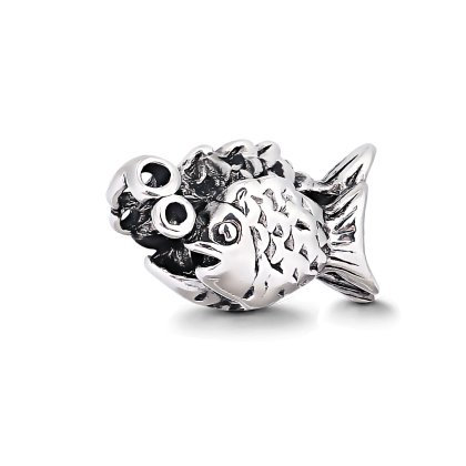"Fisch Charms Beads Anh""nger Edelstahl Angebot Perle..."