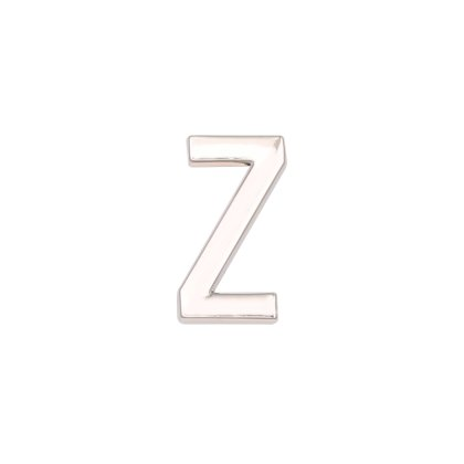 LUXERY Damen Charm Buchstabe für Armband,Edelstahl Schmuck Gestalten mit Charms Mesh Frauen Individuelle Anhänger Zirkonia Schiebe-perlen Slider Z