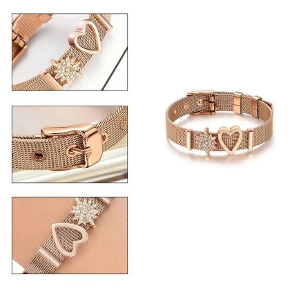 STOPPER Spacer für  Charm Armband Gold