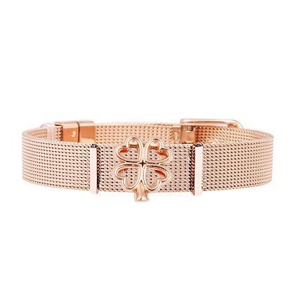 Mesh Armband Damen - Individuelle Anhänger Charms...