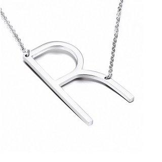Buchstaben Halskette PersoChain Silber